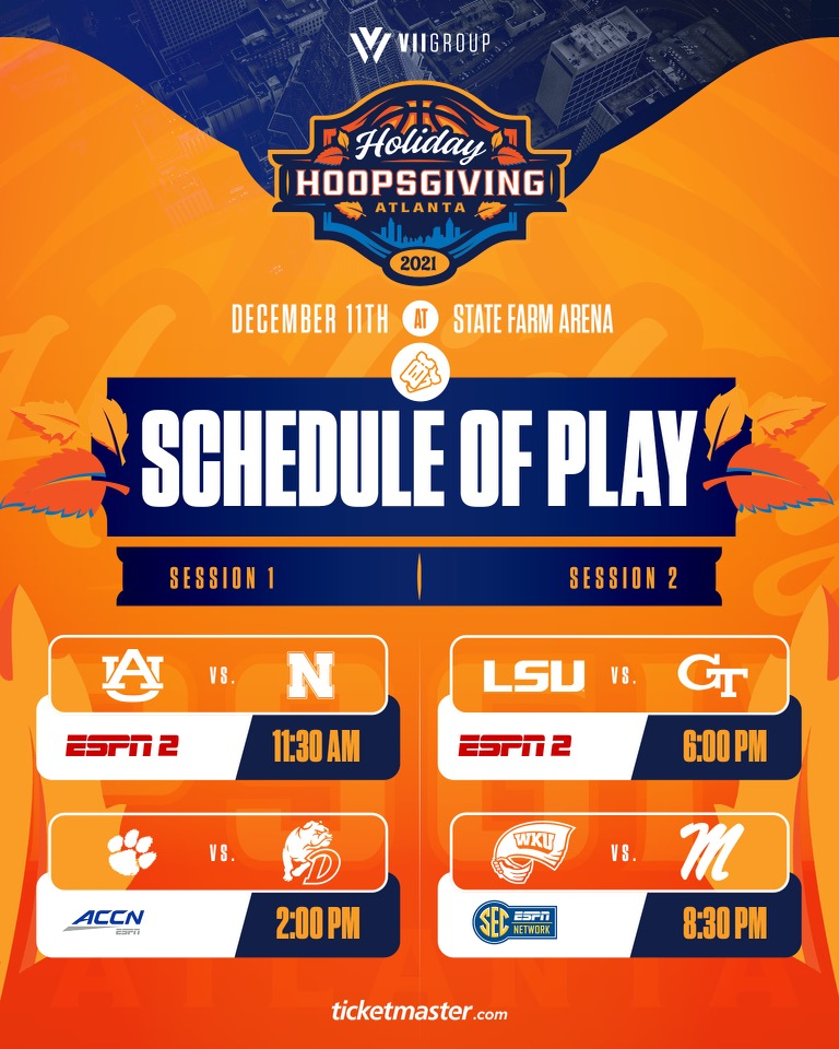 Holiday Hoopsgiving 2021 Schedule Tablet
